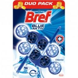 Bref Blue Aktiv toalett frissítő 50 g