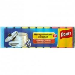 Domet mosogatószivacs dörzsivel 10 db