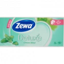 Zewa Deluxe papír zsebkendő 3 rétegű 90 db